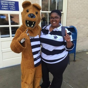 Our fun-loving mascot, the Penn State Nittany Lion.