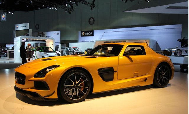 2014 mercedes benz sls amg electric drive