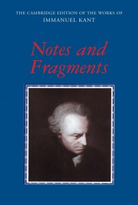 Notes and Fragments Cover