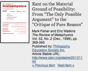 Review of Metaphysics
