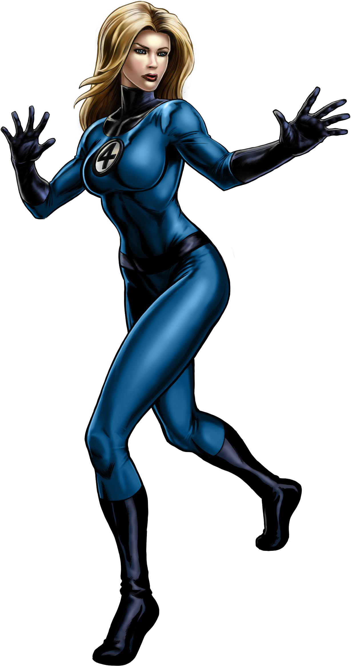 Invisible_Woman... Invisible Woman Powers