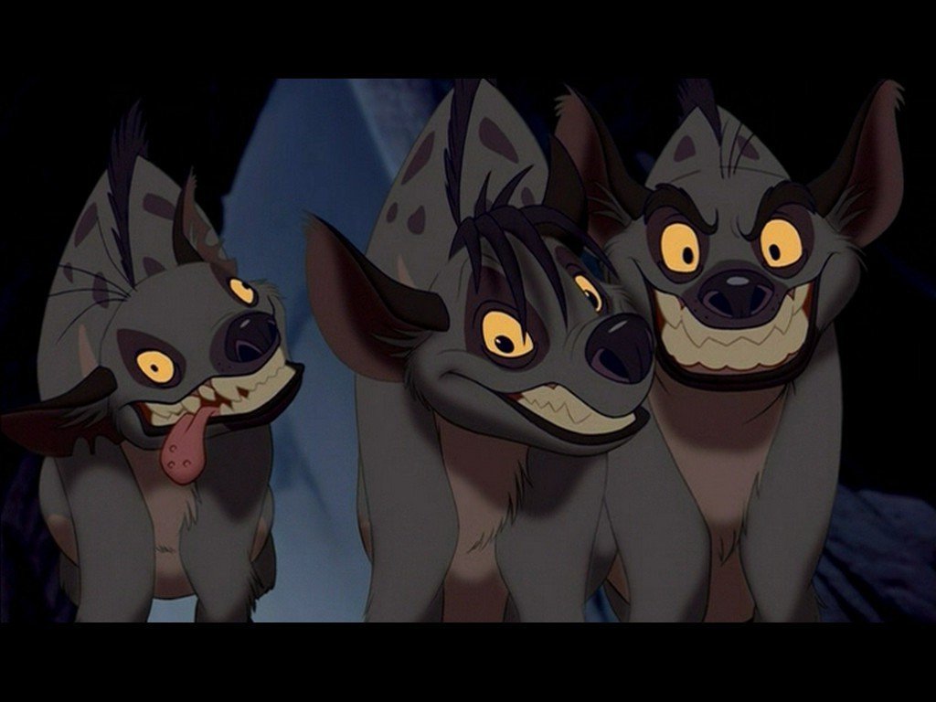 Image result for the lion king hyenas