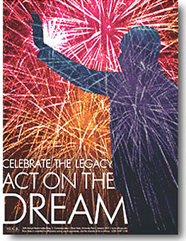 "Theme: ""Celebrate the Legacy, Act on the Dream."""