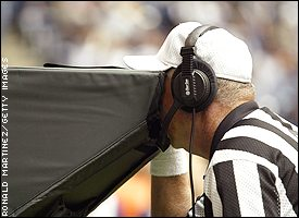 game and instant replays Instant replay: did the patriots get an interception.