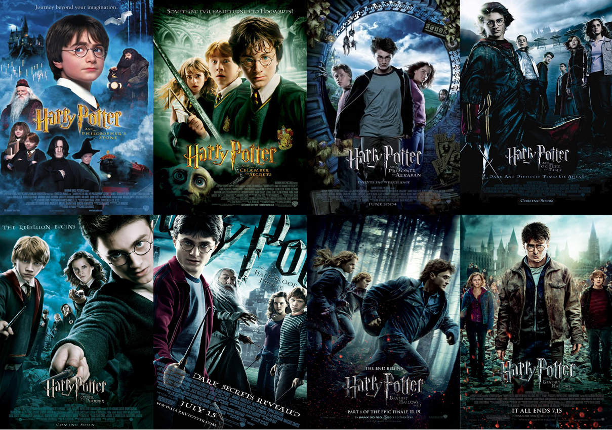 The reasons why the harry potter series is the best series in the world