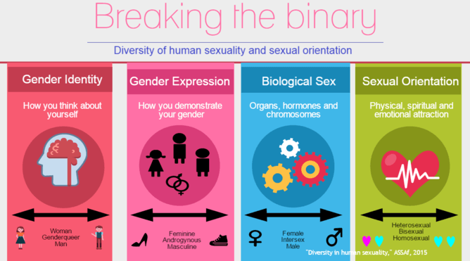 Different Sexualities And Their Meanings