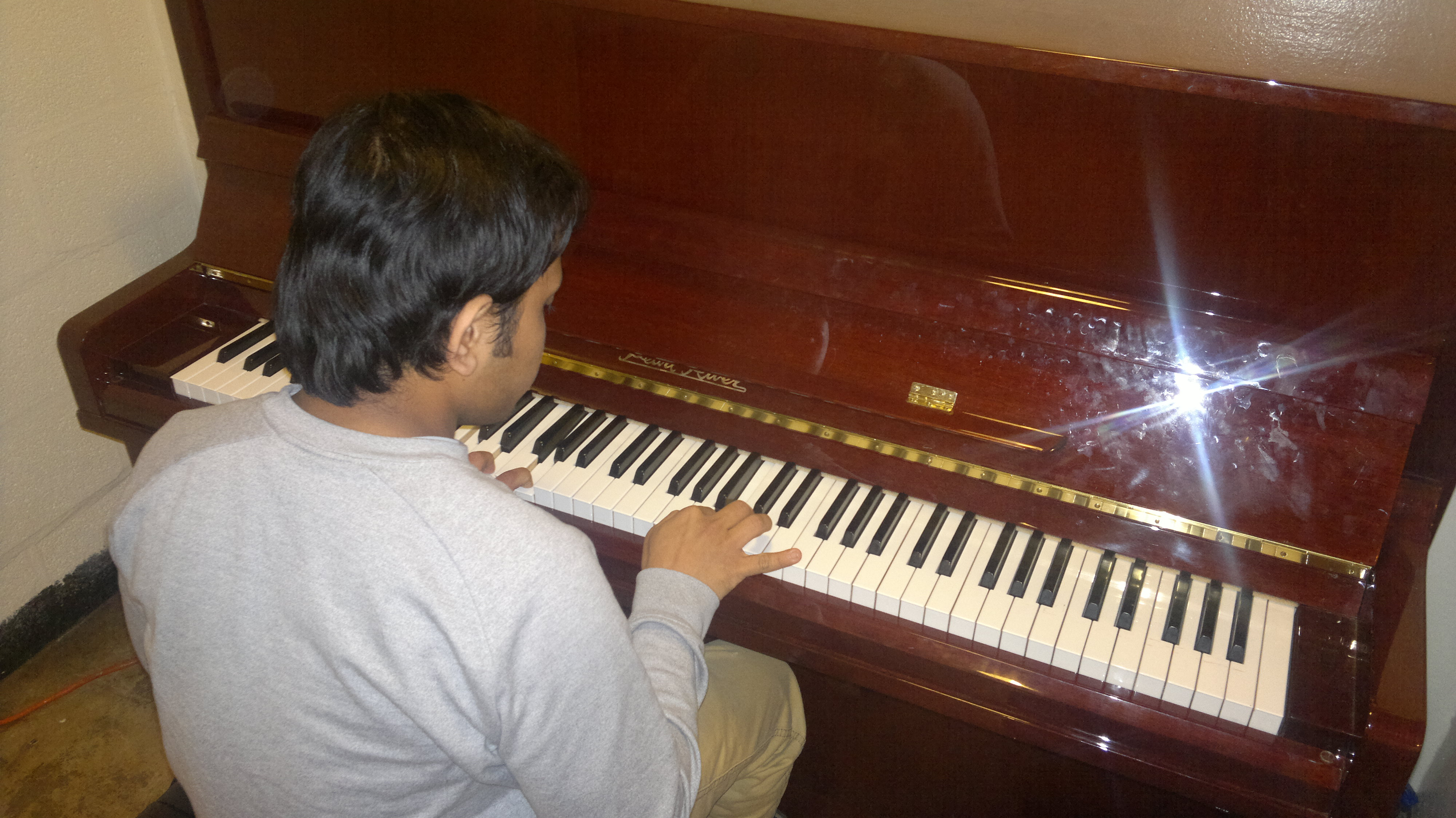 essay about playing piano Essays - largest database of quality sample essays and research papers on my hobby is play a piano.