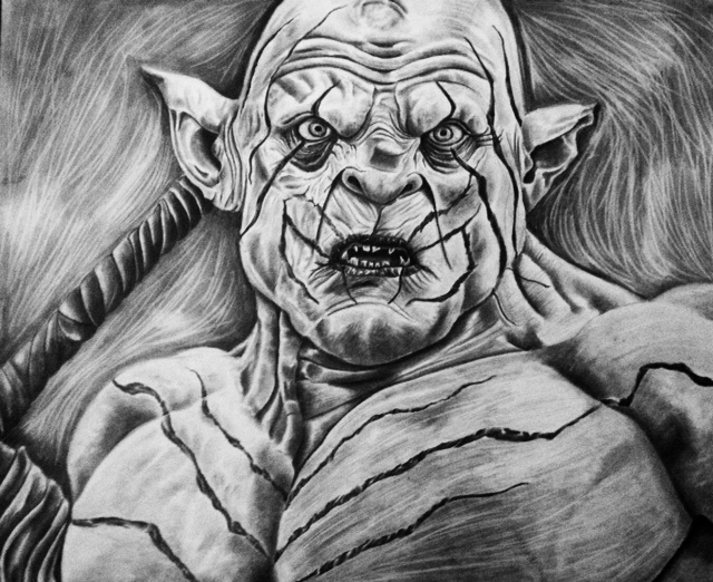 Orcs Lord Of The Rings Drawings