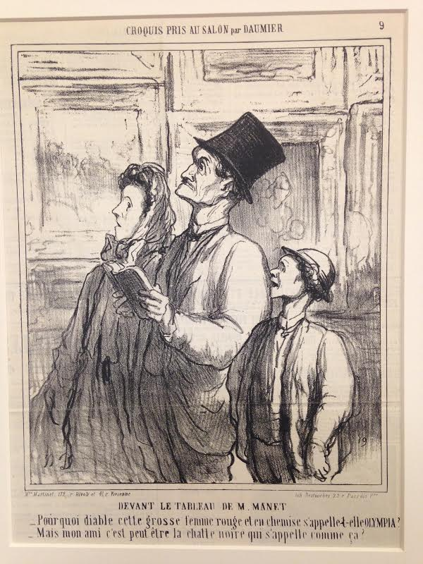 Honore daumier museum studies 2015 for Devant le miroir manet