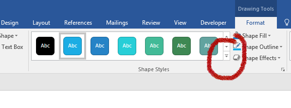 New Shape Styles in Office 2016 | Software Training