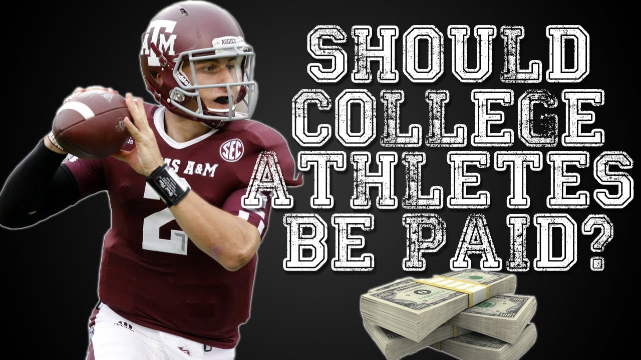 Should college athletes be paid persuasive essay