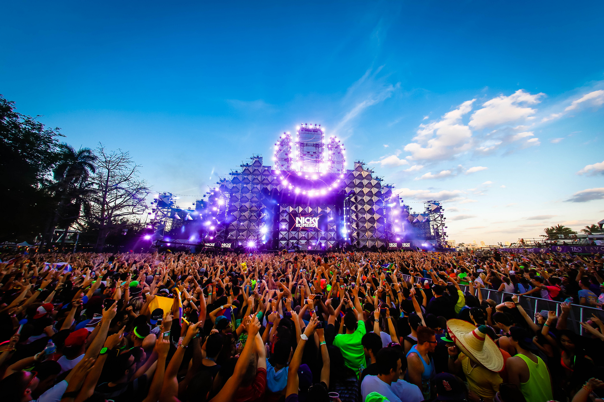 20 of the world's biggest music festivals and megaparties to