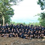 Class of 2018 and cadre at the top of Mt. Nittany.