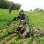 Charlie Company conducts their fall Field Exercise (FEX).