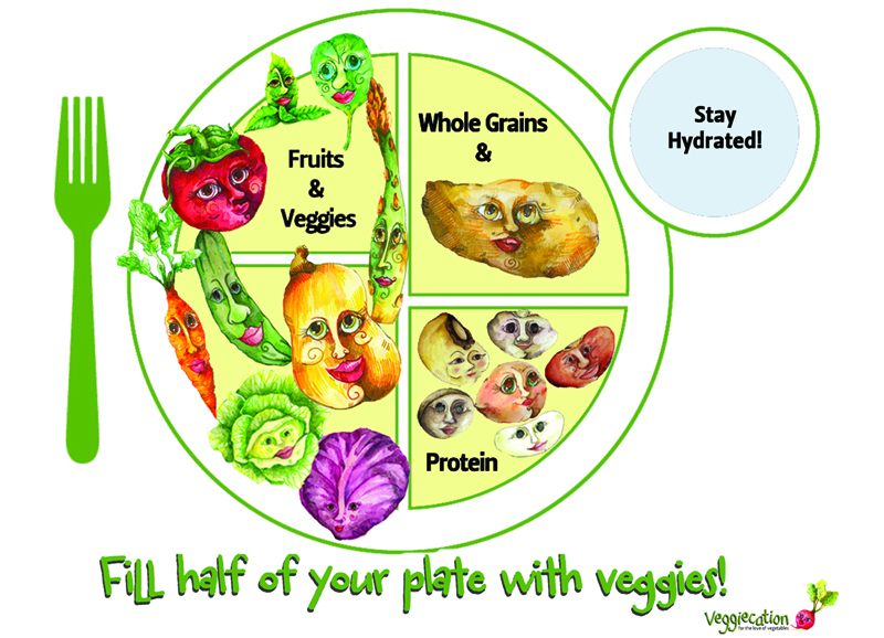 Food Group Of The MyPlate Recommendations But Are Not To Focus Many Childrens Meals Processed Foods Dominating Diets Our Youth