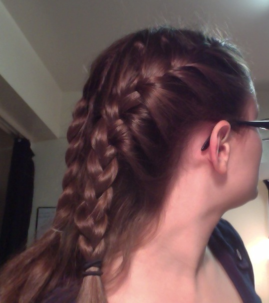Brilliant French Braid Into Ponytail Obsessed With Pinterest Short Hairstyles For Black Women Fulllsitofus