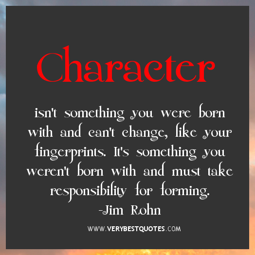 Character quotes jim rohn quotes responsibility quotes