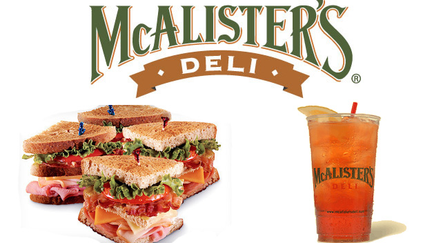 McAlister's makes America's favorite sandwiches, soups, salads, spuds and more. Come in for a meal or order catering or a meal to go. Either way, you'll get a taste .