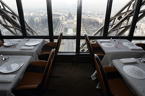 Gallery For Top Of The Eiffel Tower Restaurant