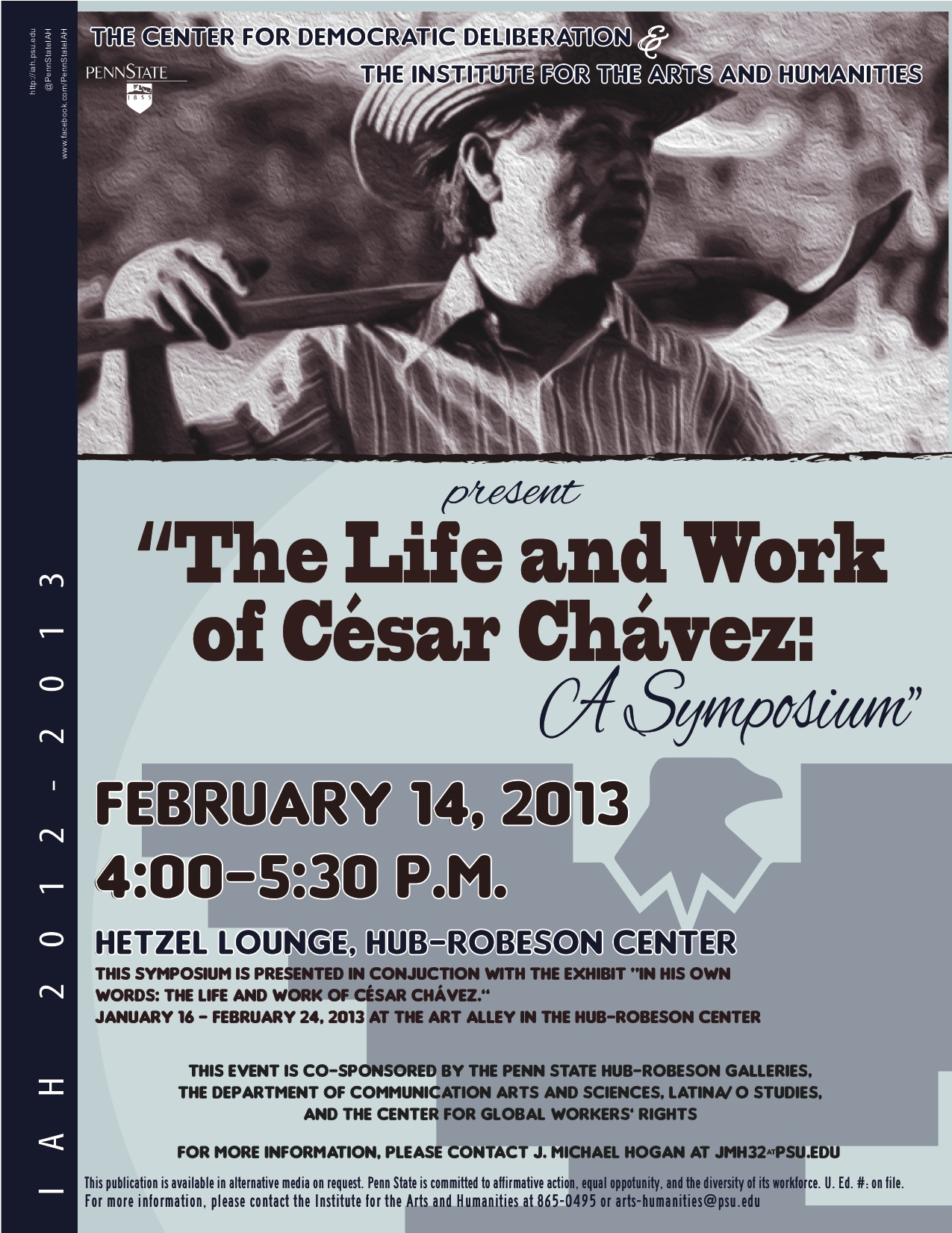 the life and work of cesar chavez As quoted in cesar chavez : a triumph of spirit  cesar e chavez and his legacy at ucla  musical inspired by the life of cesar chavez.