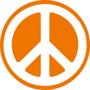 hippy_groovy_peace_symbol_sticker_dark_orange_2-999px