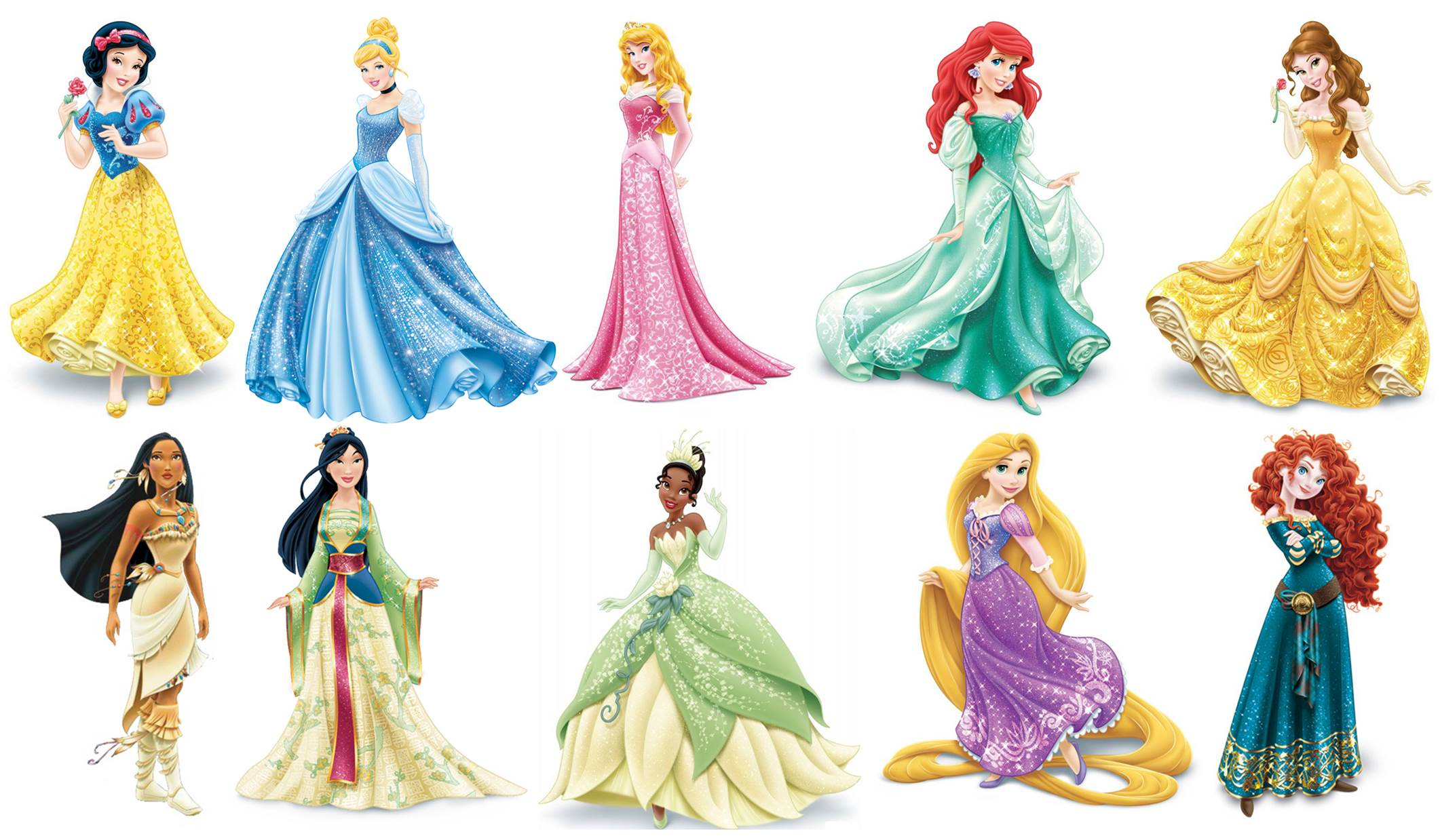 Disney Princess Character Design : From the screen to shelf an imperfect translation