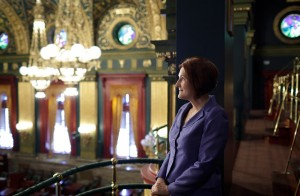 Paff's Research Takes Her from the Capitol to the Classroom