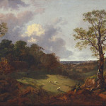 Gainsborough - Wooded Landscape with a Cottage and Shepherd (http://bit.ly/1zLFI0q)