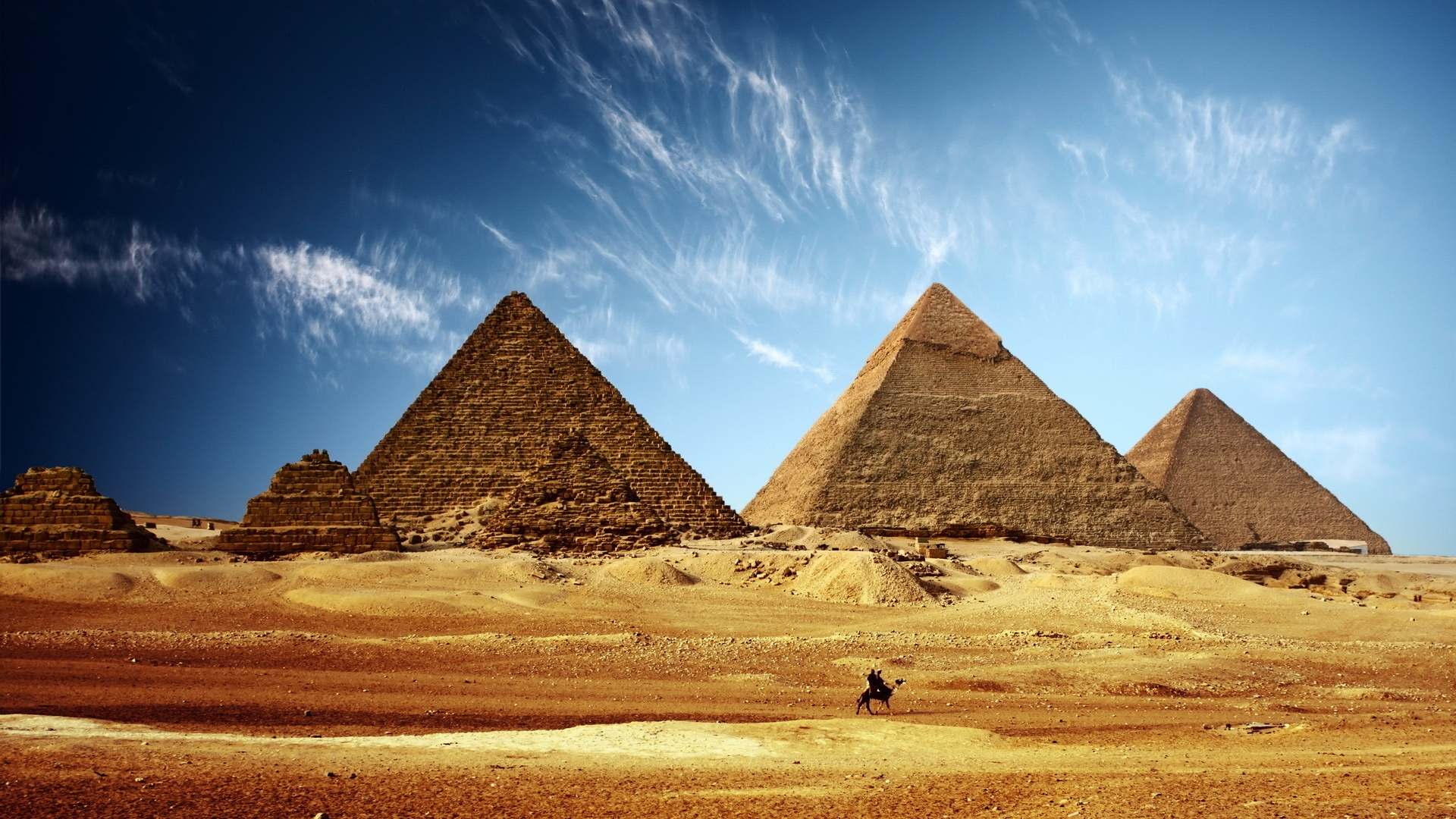 The Great Pyramids of Giza | Monuments Around the World