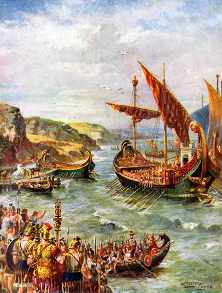 an analysis of reasons for the first invasion of britain in 55 bc Conflict as a cause of unsustainable development ii towards  environmental  degradation, first seen as mainly a problem of the rich nations and a side effect.