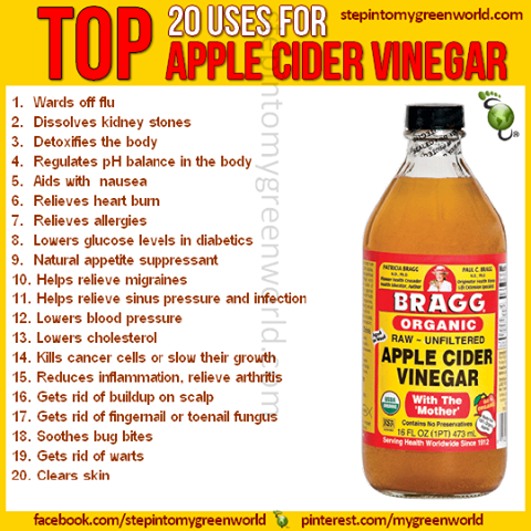 Health benefits of vinegar with mother