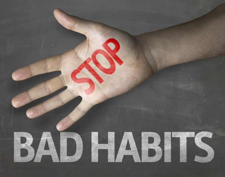 bad habits We all have them -- bad habits that we wish we didn't have but feel pessimistic about changing maybe you know you really have to spend less time on facebook or.