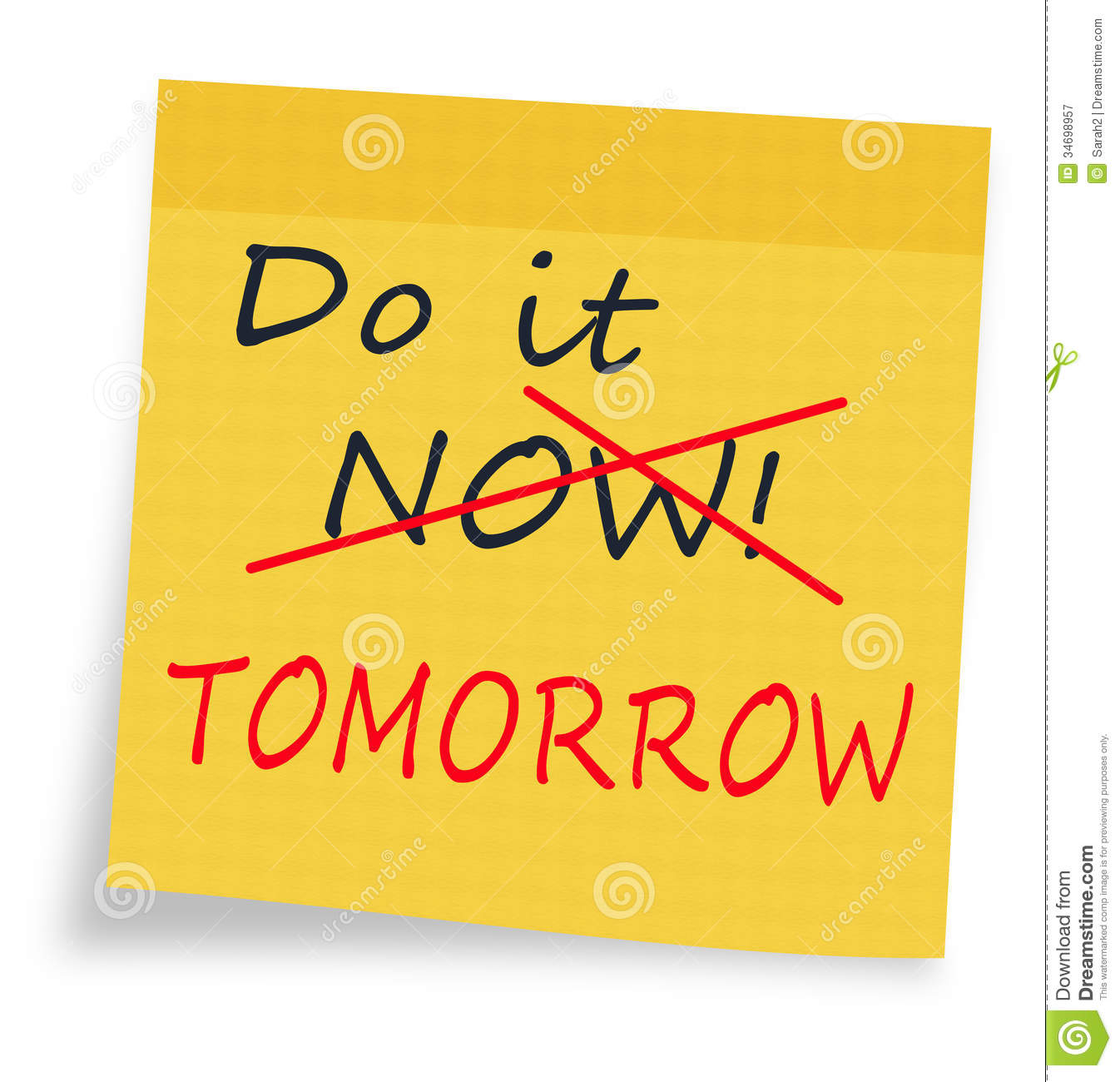 procrastination and time management Instilling a strong sense of time management for teens is a huge challenge as a   some examples of how students can lower the bar to reduce procrastination:.