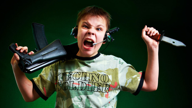 online video games and violence