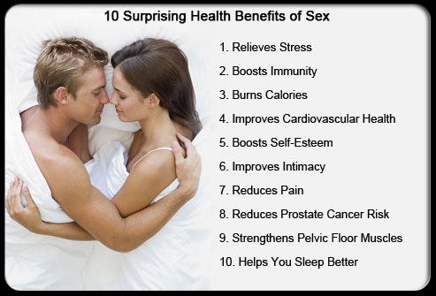 Sex is not good for health