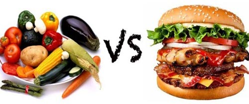 Image result for meat vs plants