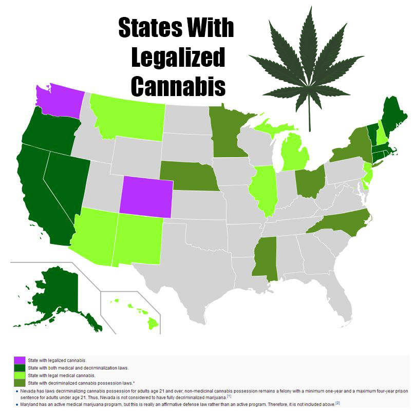 "marijuana should not be legalized in the united states of america Marijuana legalization, federalism and the 10th amendment to the us constitution  ""the powers not delegated to the united states by the constitution, nor ."