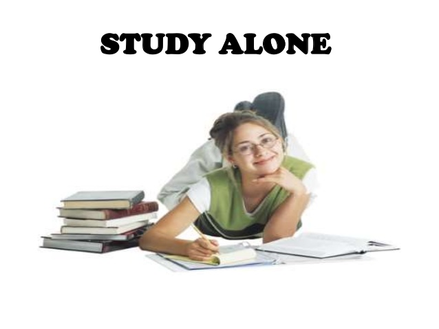 Study alone or in a group?