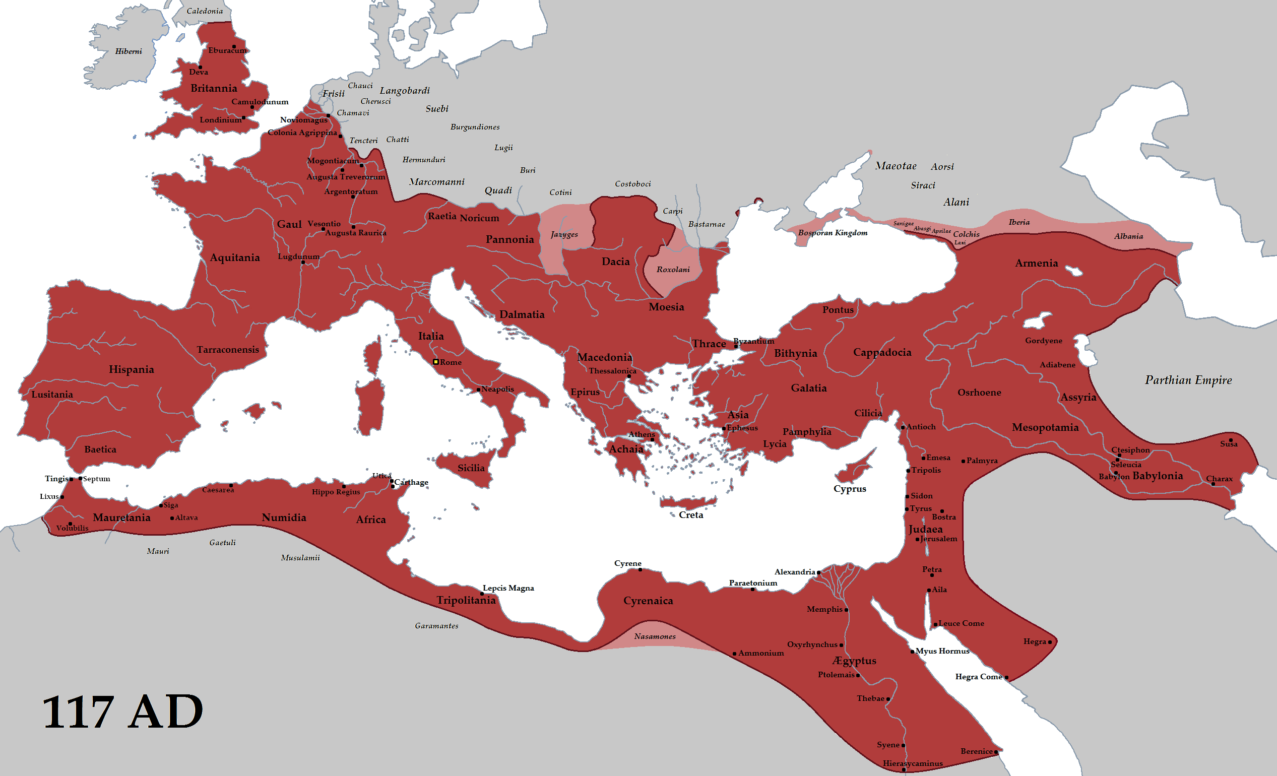 conclusion the success of the r republic and empire r empire trajan 117ad