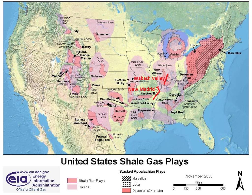 Fracking The Earth In Half How Fracking Causes Earthquakes Fault Lines Usa Map