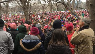 Women's march on Capitol a hopeful sign of resistance