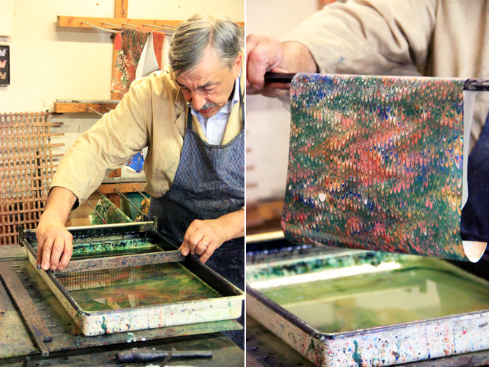 Paper Marbling: Spreads your imagination's wings