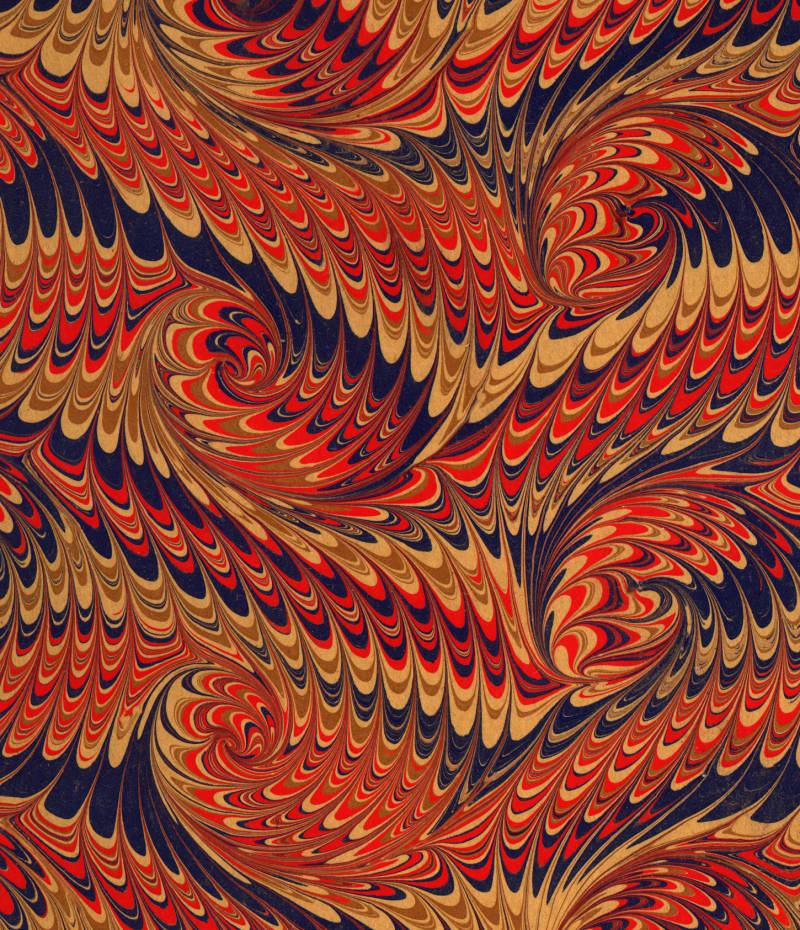Paper Marbling Spreads Your Imagination S Wings