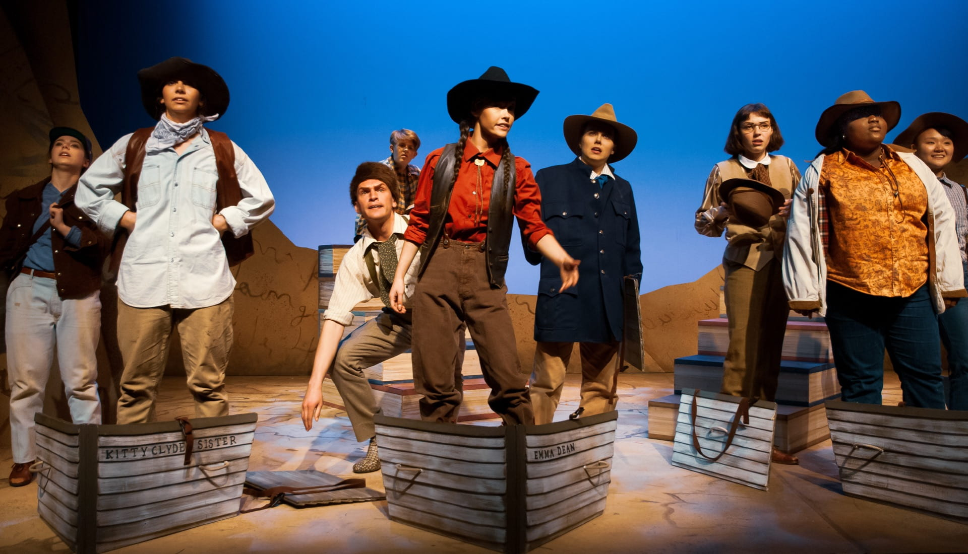Production of Men on Boats (Off Center Stage Production)