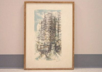 Untitled (Abstracted Cityscape)