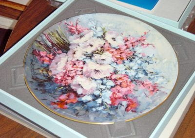 "(Royal Doulton) ""From the Poet's Garden"" and ""Country Bouquet"" Plates"
