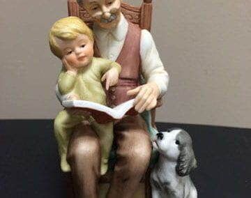 "(Enesco) Treasured Memories ""Storytime with Grandpa"""