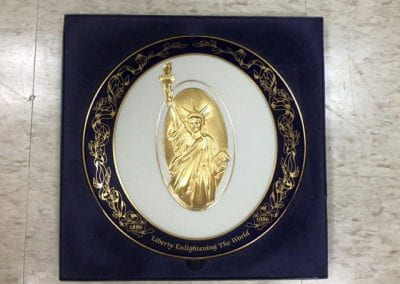(Pickard) Statue of Liberty Commemorative Plate