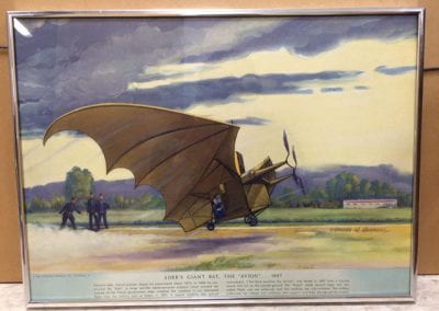 "Ader's Giant Bat ""The Avion"" 1897"