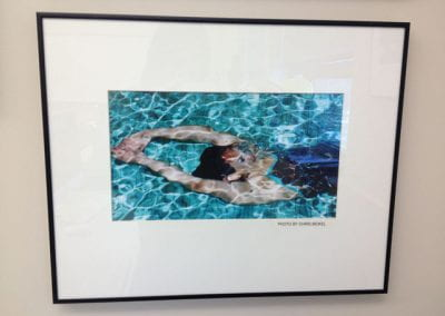 Untitled (student swimming)